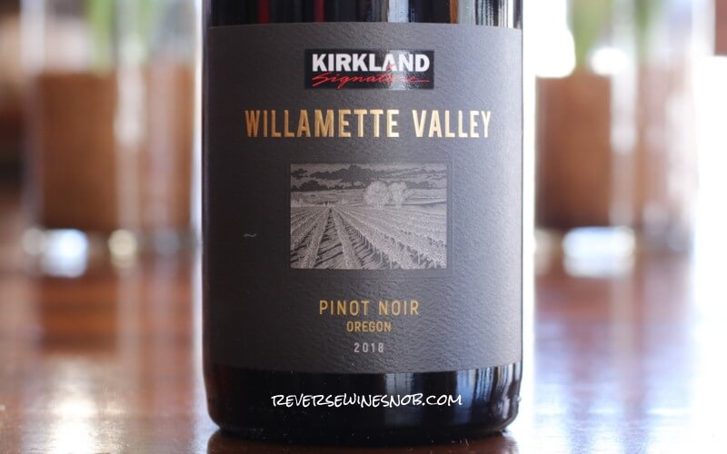 Kirkland Signature Willamette Valley Pinot Noir - A Willamette Valley Value