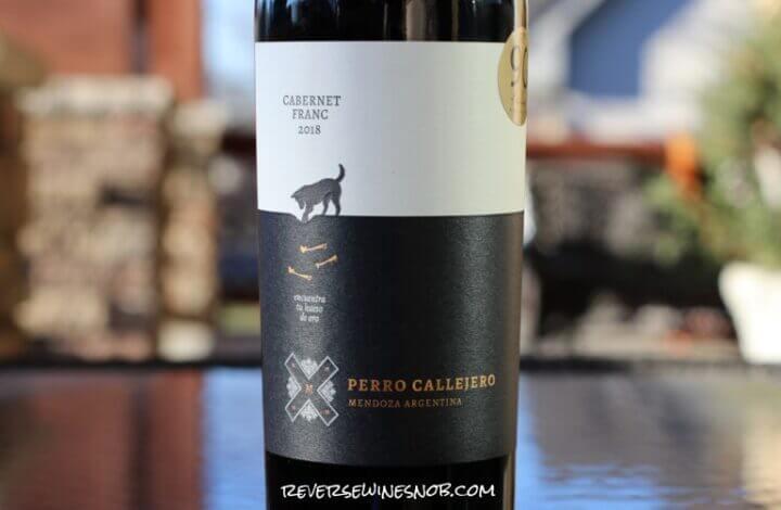Perro Callejero Cabernet Franc – A Good Find