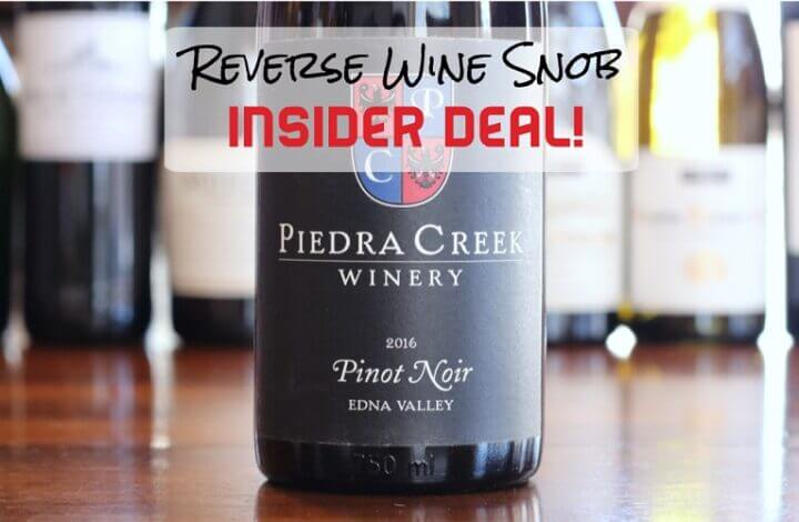 INSIDER DEAL! The Fantastic Piedra Creek Winery Pinot Noir