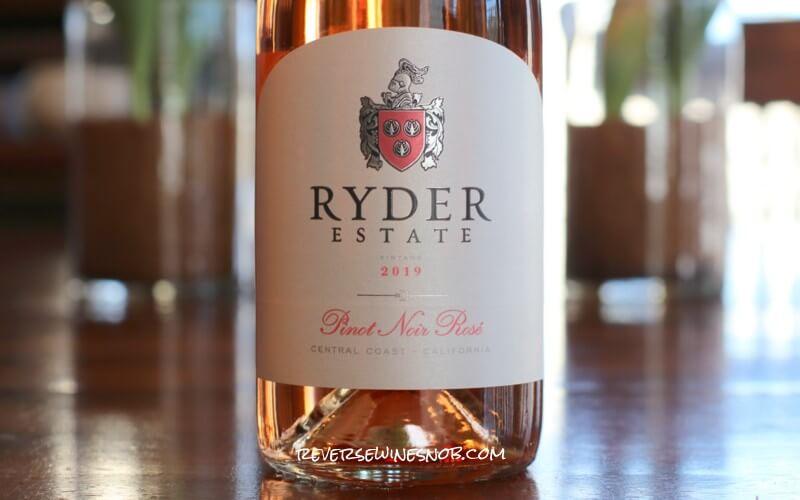 Ryder Estate Pinot Noir Rosé