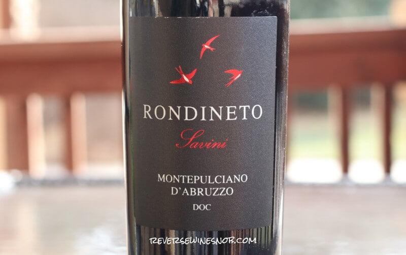 Fattoria Giuseppe Savini Rondineto Montepulciano d'Abruzzo - Decent