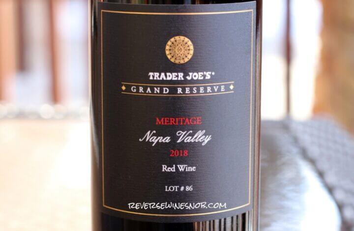 Trader Joe's Grand Reserve Napa Valley Meritage Lot 86 - Ripe and Ready