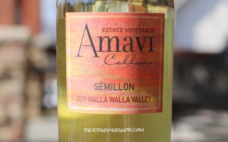 Amavi Cellars Semillon