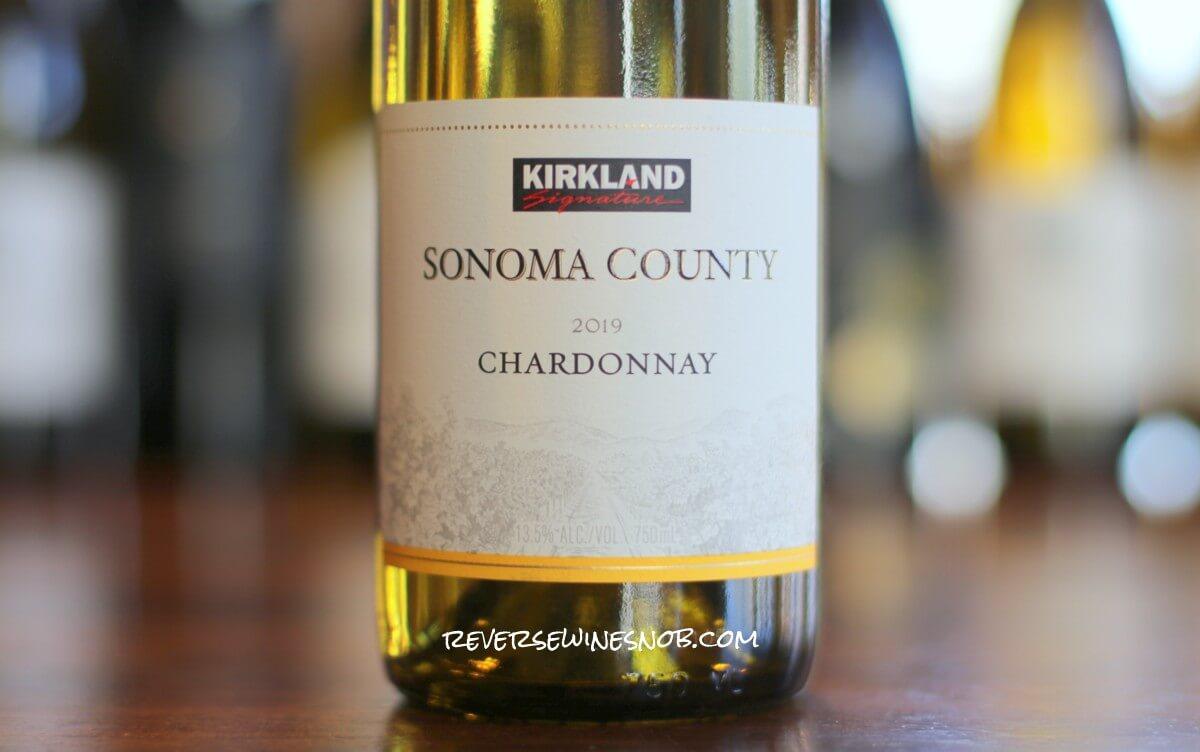 Kirkland Signature Sonoma County Chardonnay - Butterlicious