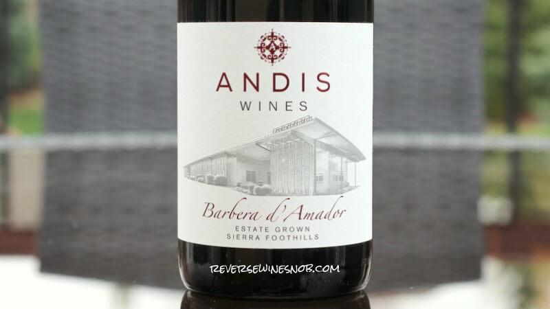 2018 Andis Wines Barbera d'Amador