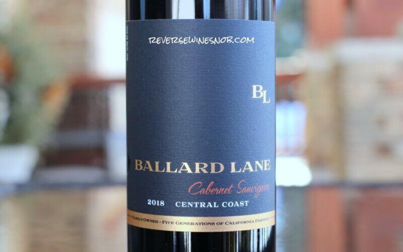 2018 Ballard Lane Cabernet Sauvignon