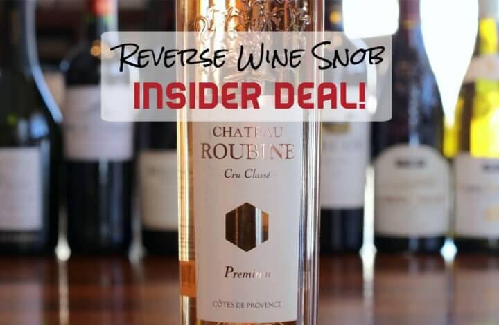 INSIDER DEAL! Chateau Roubine Cru Classé Provence Rosé