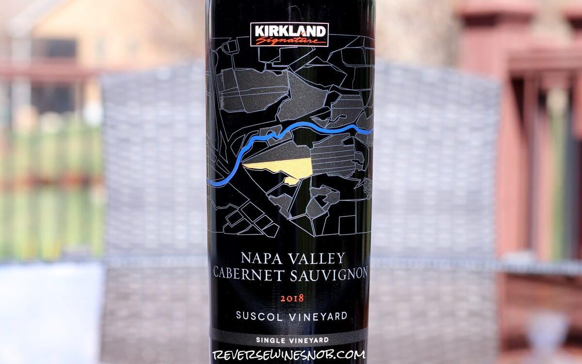 Kirkland Signature Suscol Vineyard Napa Valley Cabernet Sauvignon - Value