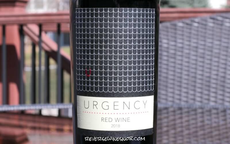 2018 Urgency Red Wine