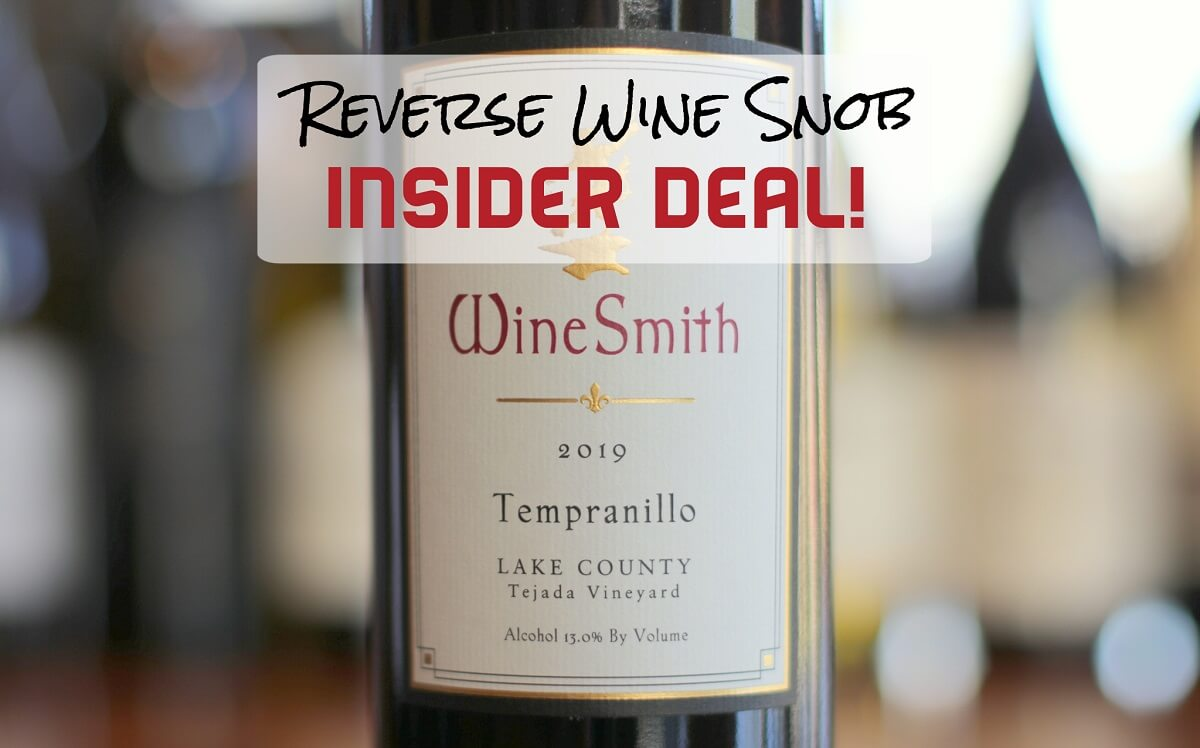 INSIDER DEAL! Perfect 10 Tempranillo 50% Off