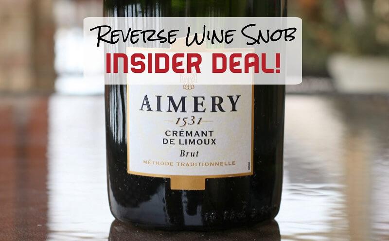 INSIDER DEAL! Aimery 1531 Cremant de Limoux Brut