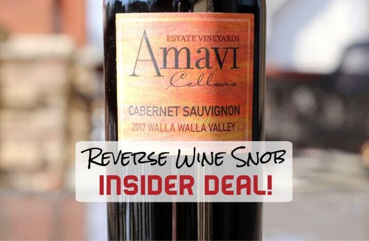 INSIDER DEAL! Amavi Cellars Cabernet Sauvignon – A Walla Walla Wonder