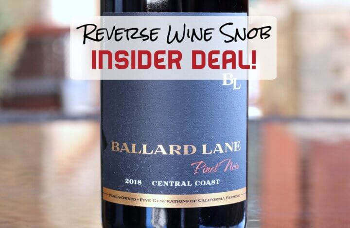 INSIDER DEAL! Highly Recommended Pinot Noir just $12 a bottle