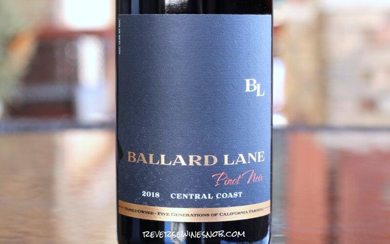2018 Ballard Lane Pinot Noir