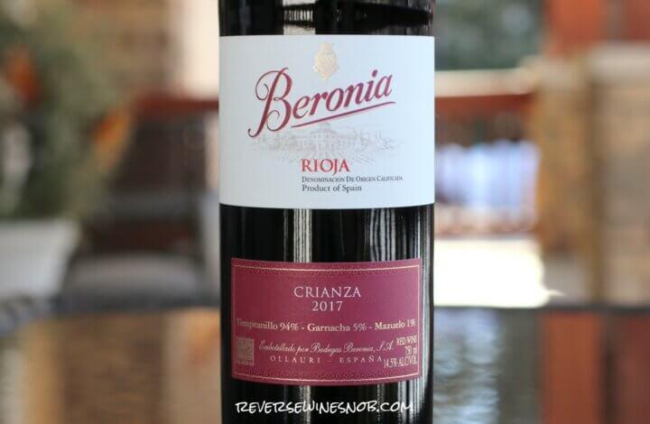 Beronia Crianza - Fresh and Easy