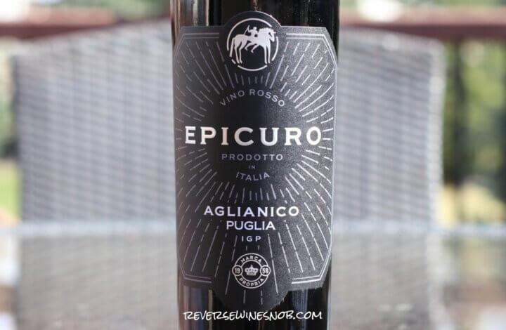 Epicuro Aglianico - Pizza Night