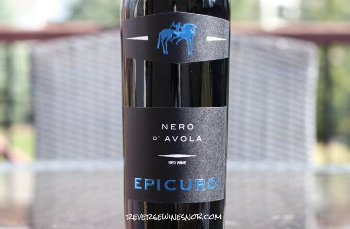 Epicuro Nero d'Avola - Simple, Tart and Tasty