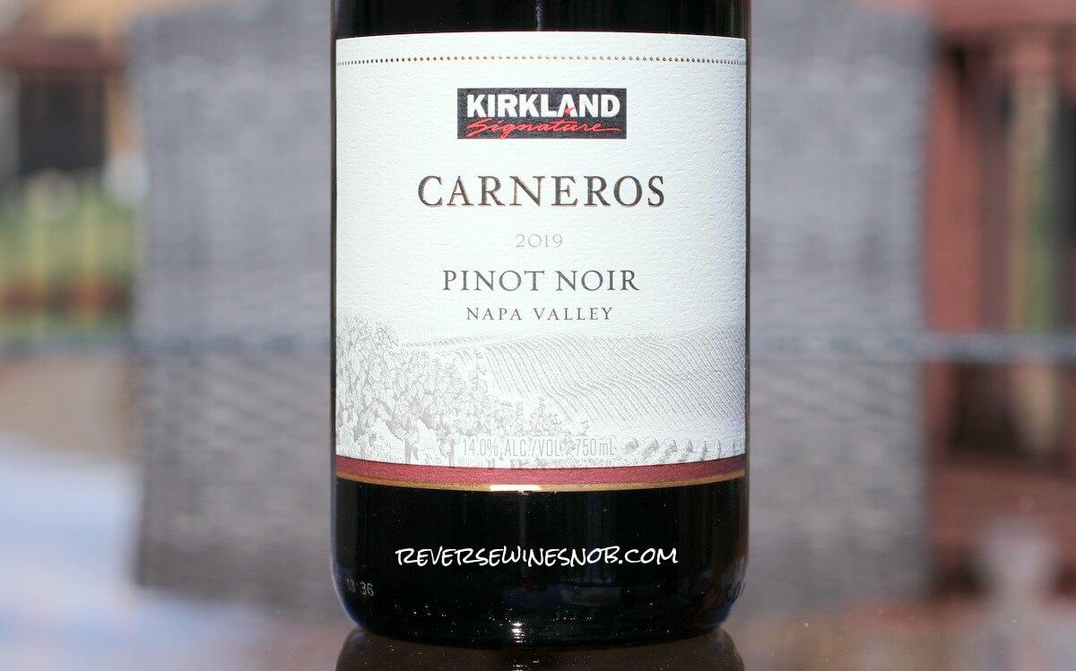 Kirkland Signature Carneros Pinot Noir - Classic Value