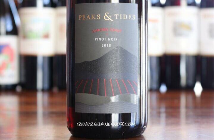 Peaks & Tides Pinot Noir - Attractive