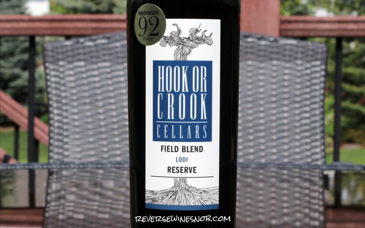 Hook or Crook Cellars Field Blend Reserve Red - On the Up and Up