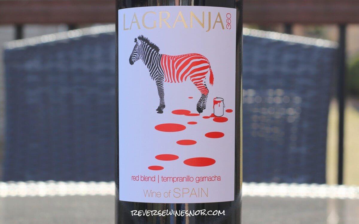 La Granja Tempranillo Garnacha Red Blend - Totally Fine for $5.99