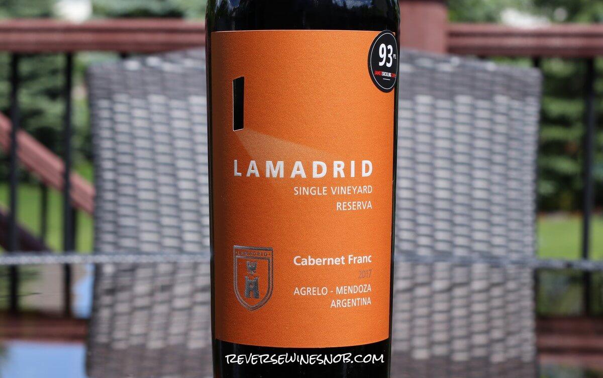 Lamadrid Cabernet Franc Reserva - Really Darn Delicious