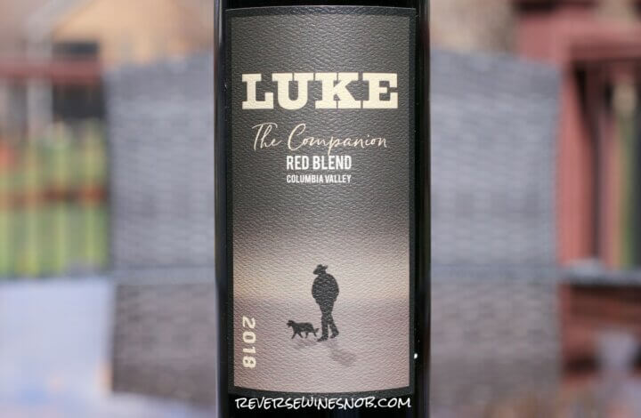 Luke The Companion Red Blend - Tremendously Good