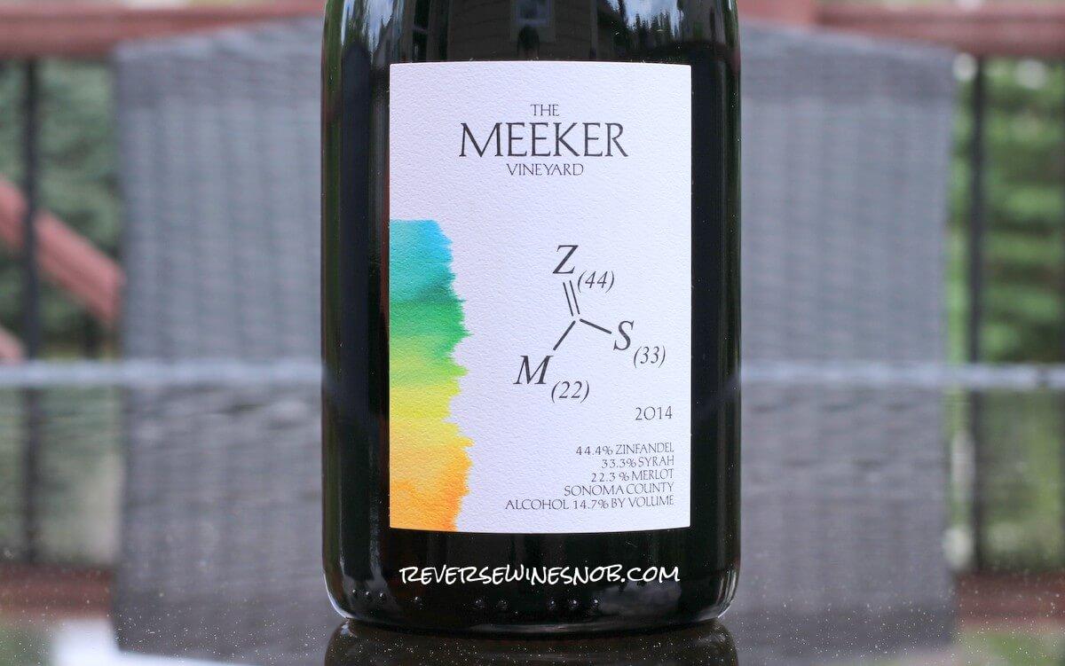 2014 Meeker Vineyard Z-S-M