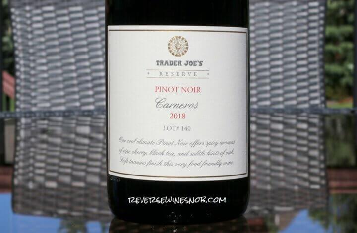 Trader Joe's Reserve Carneros Pinot Noir - Surprisingly Good