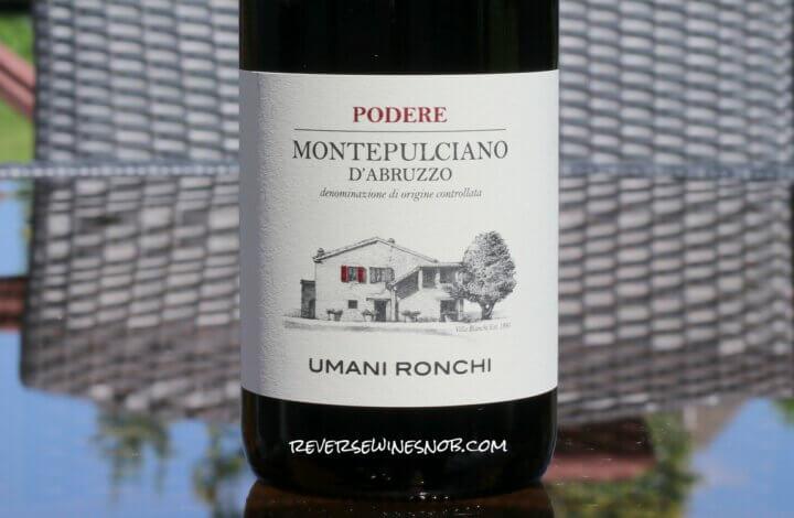 Umani Ronchi Podere Montepulciano d'Abruzzo - Satisfying
