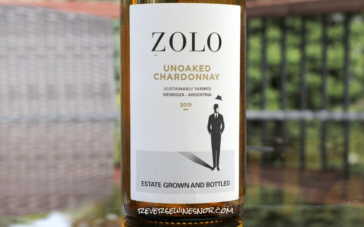 Zolo Unoaked Chardonnay – Simple and Fruity
