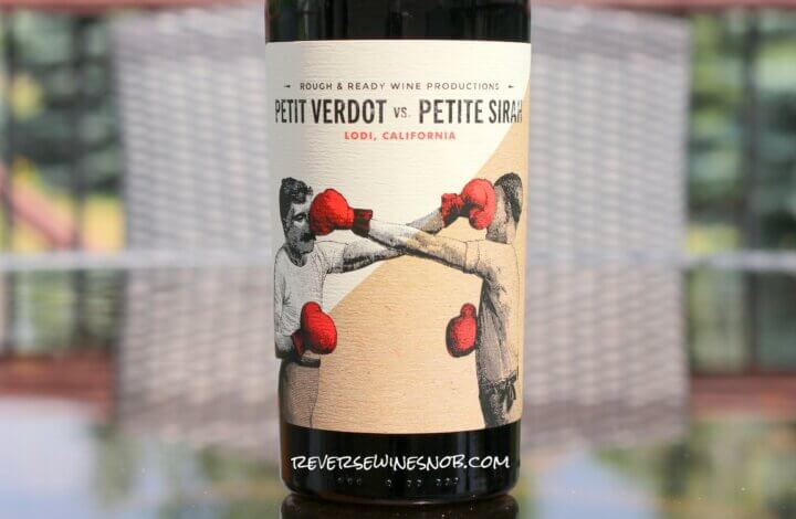 Rough & Ready Red Blend Petit Verdot vs. Petite Sirah from Trader Joe's