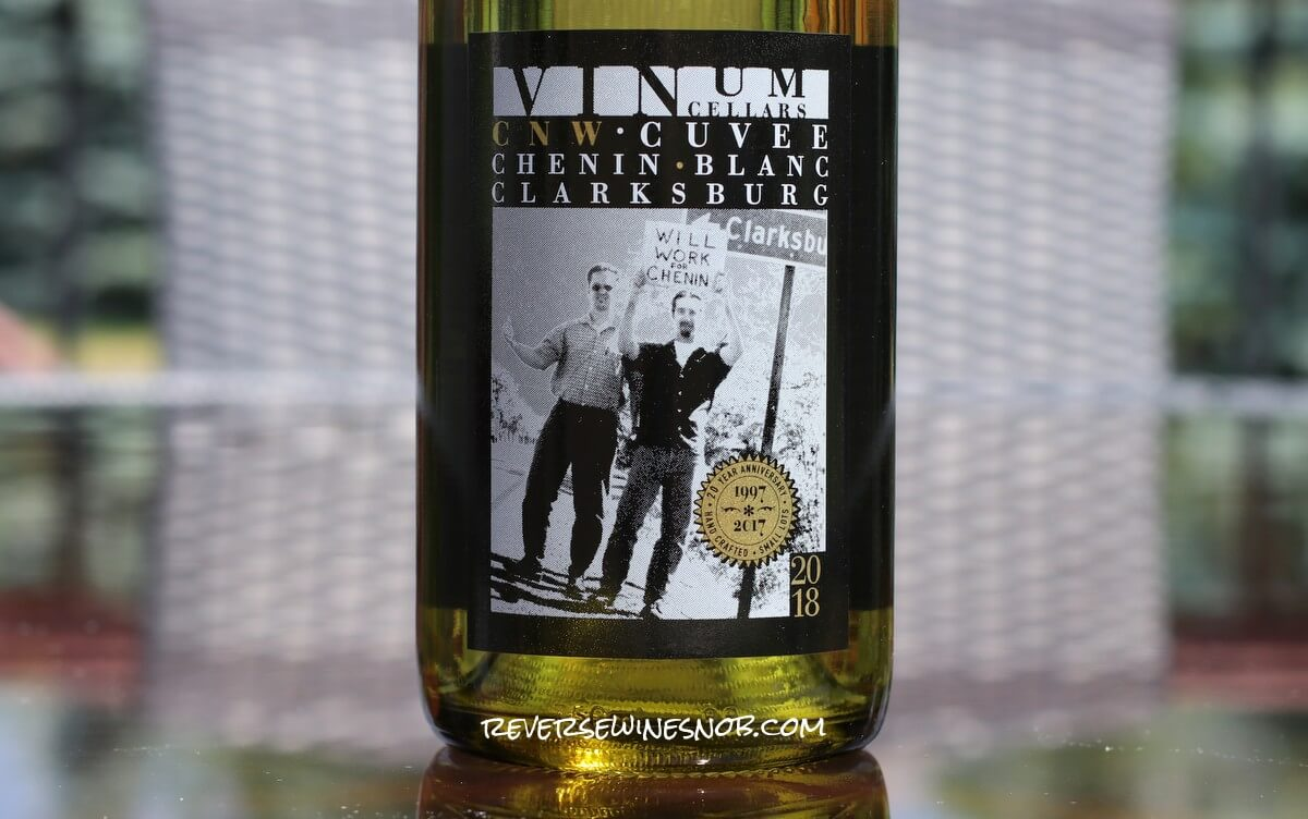 2018 Vinum Cellars CNW Cuvee Chenin Blanc