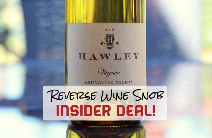 INSIDER DEAL! Hawley Nelson Vineyard Viognier - Lovely