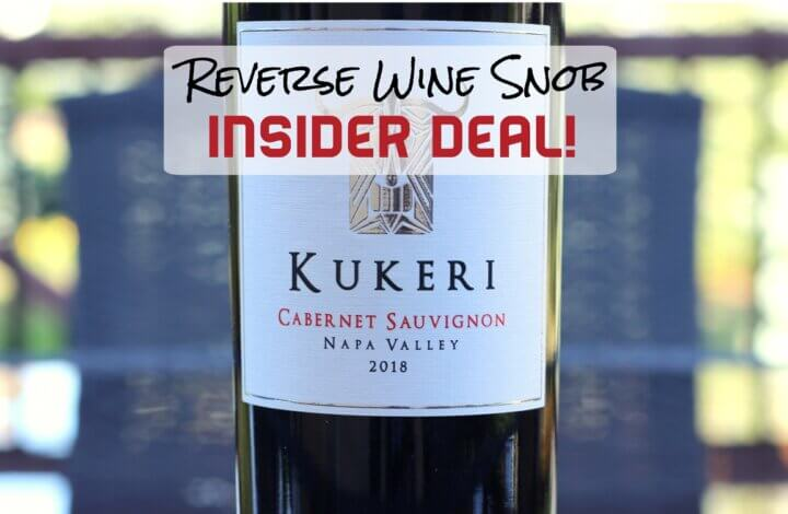 INSIDER DEAL! Save $24 On 96 Point Napa Cab