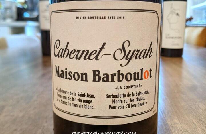 2020 Maison Barboulot Cabernet-Syrah