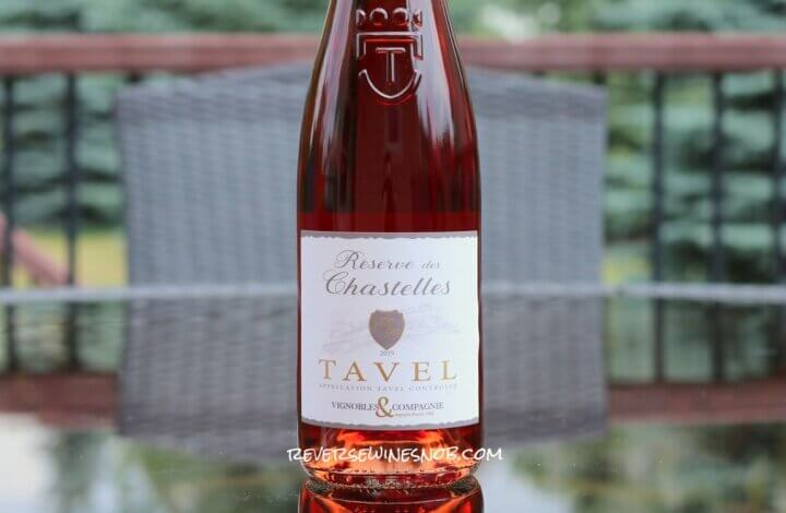 Reserve des Chastelles Tavel Rosé - Serious Rhone Rosé from Trader Joe's