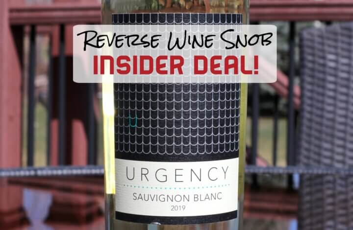 INSIDER DEAL! 60% Discount on 90 point Lake County Sauvignon Blanc