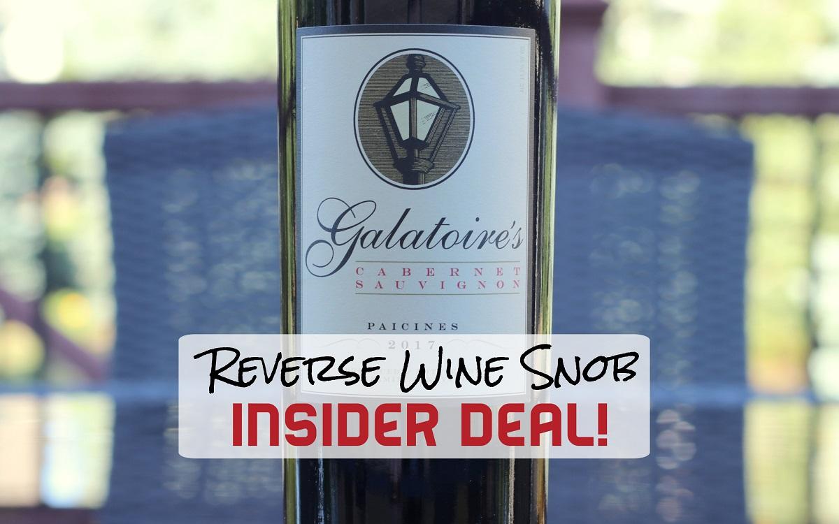 INSIDER DEAL! Donati Family Vineyard Galatoire's Cabernet Sauvignon