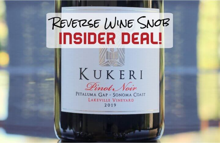 INSIDER DEAL! Perfect 10 Pinot Noir Almost Half Off!