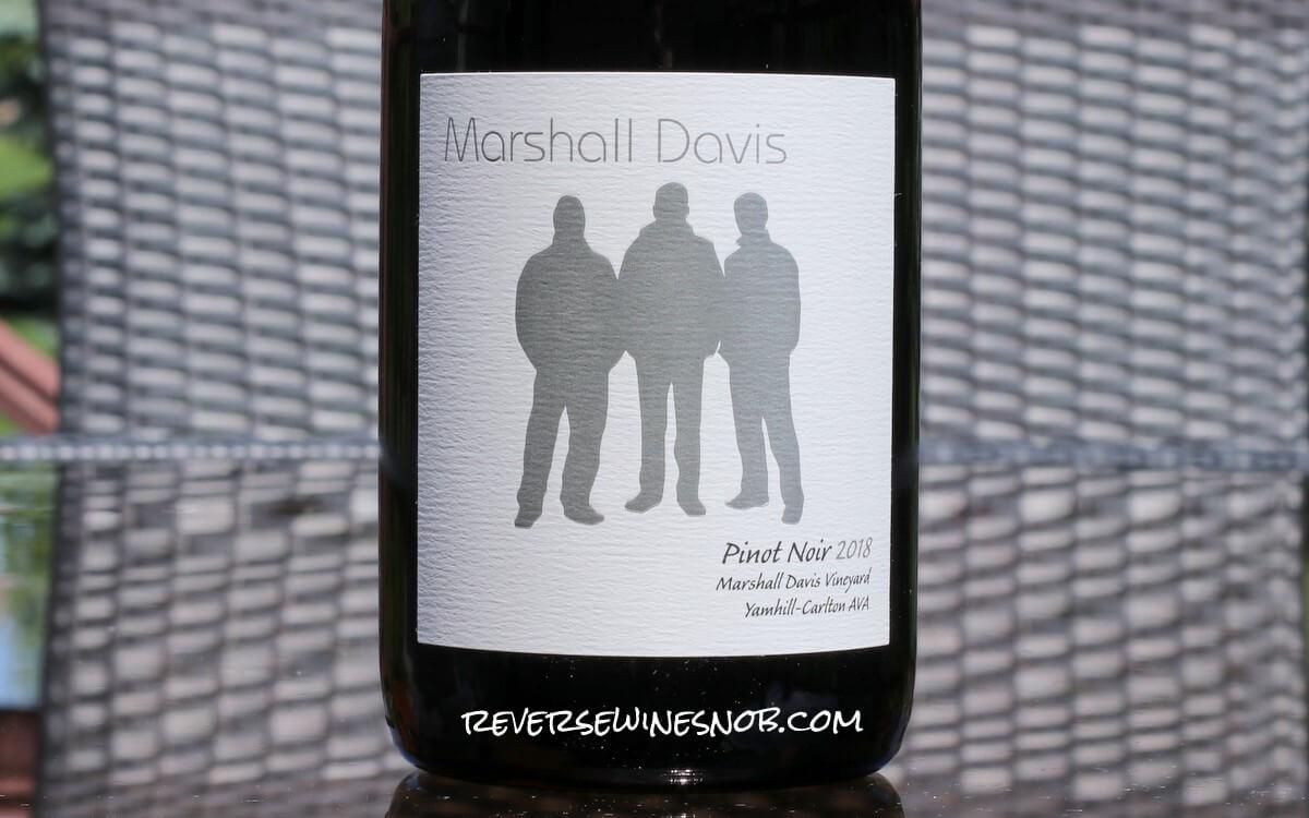 2018 Marshall Davis Vineyard Yamhill-Carlton AVA Estate Pinot Noir