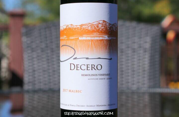 Finca Decero Remolinos Vineyard Malbec - Lofty