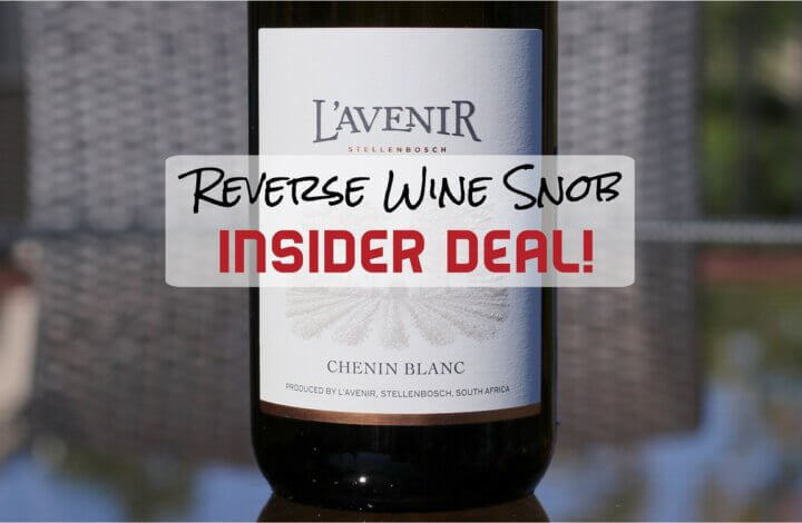 70% OFF INSIDER DEAL! Highly Recommended South African Chenin Blanc
